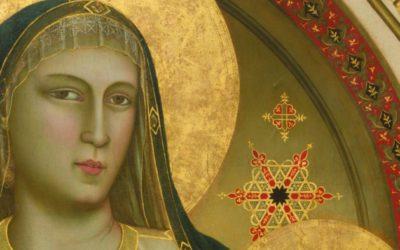 """Giotto agli Uffizi. Diceva dei suoi figli: """"Di giorno li dipingo, di notte gli faccio"""""""
