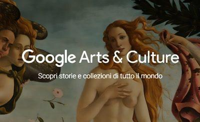 Visitare gli Uffizi da casa? Oggi è possibile con Google Arts&Culture