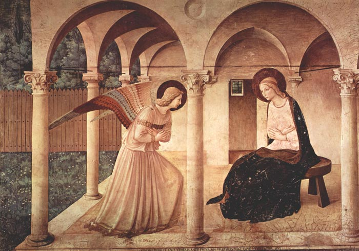 Affreschi San Mrco Beato Angelico