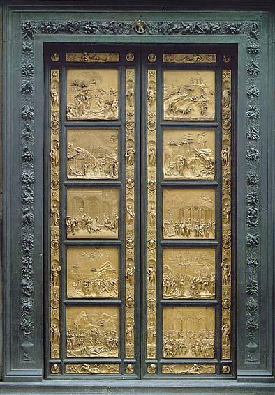 Porta del Paradiso Ghiberti Battistero