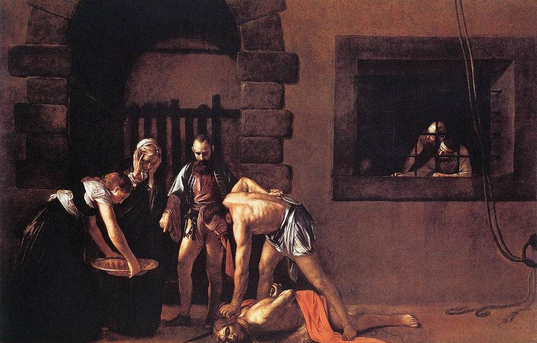 Caravaggio nel mondo: La Decollazione del Battista