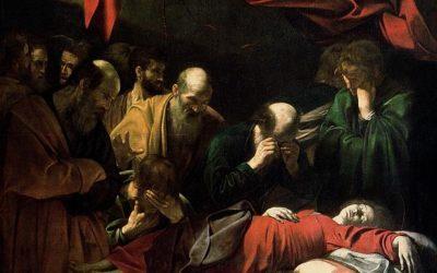 Caravaggio nel mondo: La Morte della Vergine