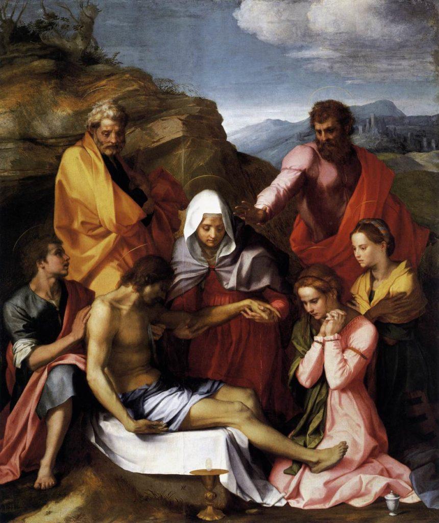 La Pietà di Luco