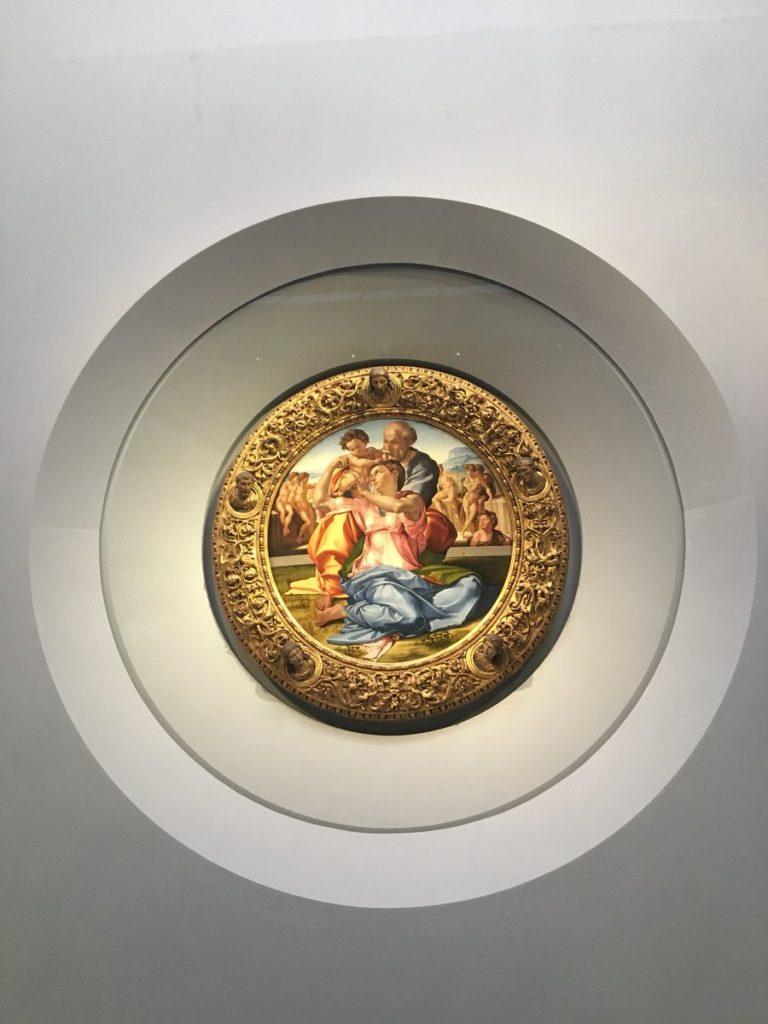 Michelangelo - Tondo Doni Galleria degli Uffizi