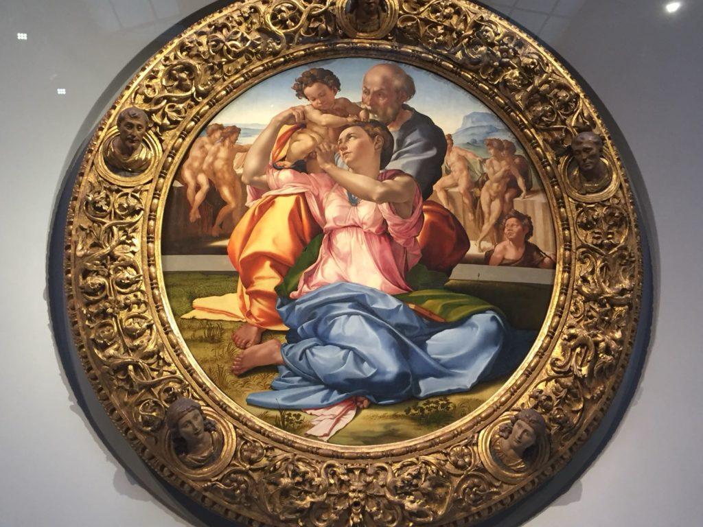 Galleria degli Uffizi- Tondo Doni, Michelangelo