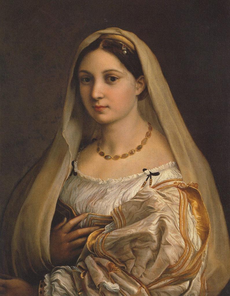 La Velata di Raffaello alla Galleria Palatina