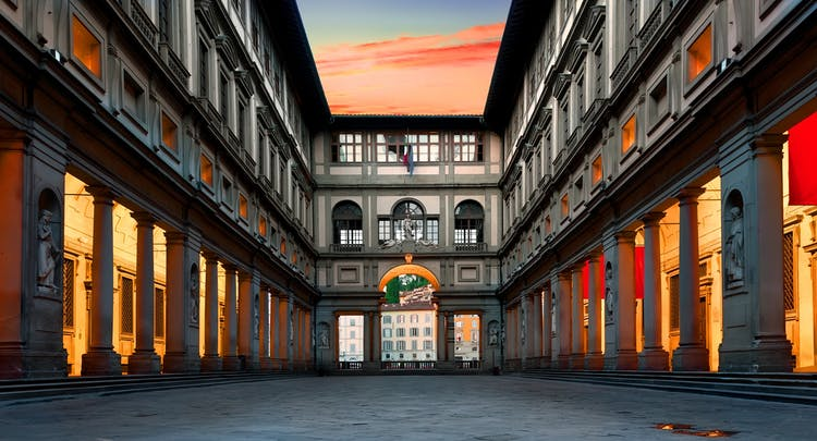 Filippo Lippi alla Galleria degli Uffizi