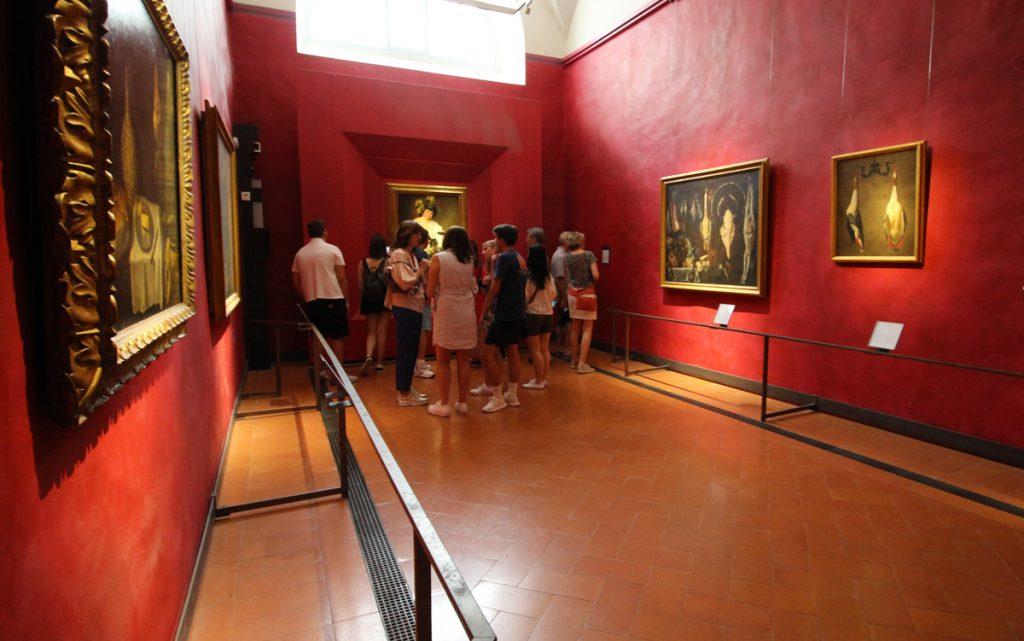 Galleria degli Uffizi - Sala di Caravaggio