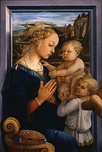 madonna-con-bambino-lippi