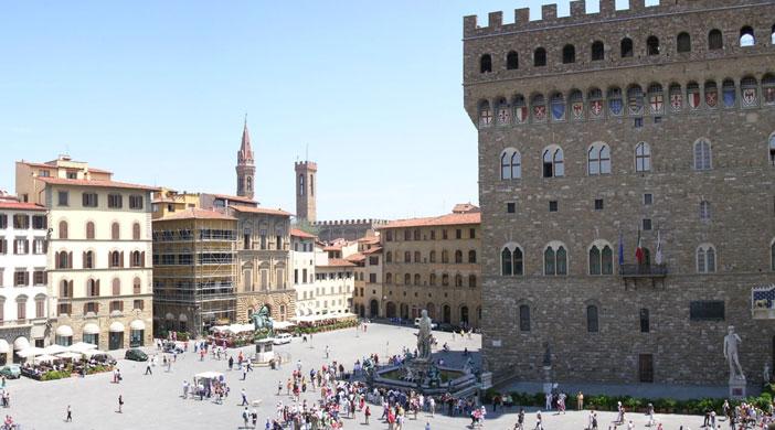 Piazza della Signoria a Firenze: Arte e Cioccolata!