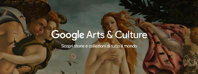 Visita gli Uffizi da casa con Google Arts & Culture