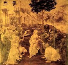 Leonardo agli Uffizi - Adorazione dei magi