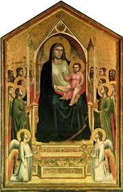 Maestà Giotto Uffiizi