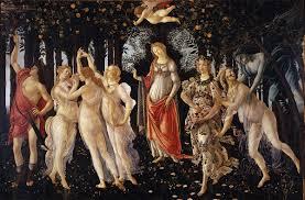 Primavera Botticelli Uffizi