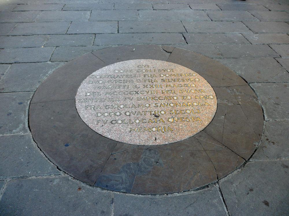 La Fiorita tradizione fiorentina morte Savonarola