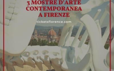 Arte contemporanea a Firenze – 3 mostre nella culla del Rinascimento