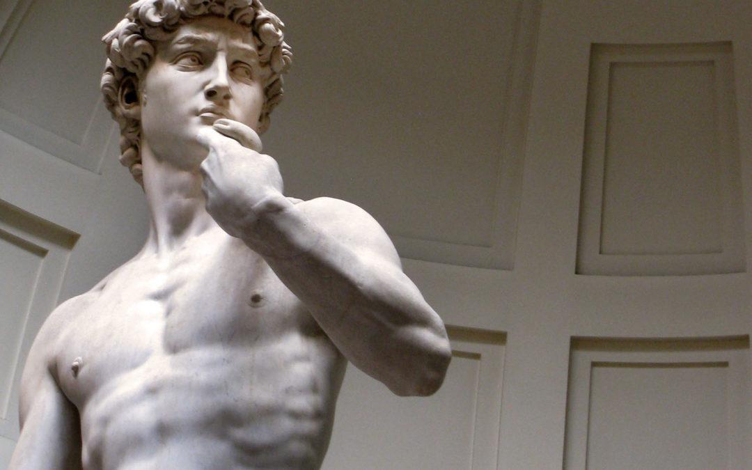 Il David di Michelangelo e i Medici