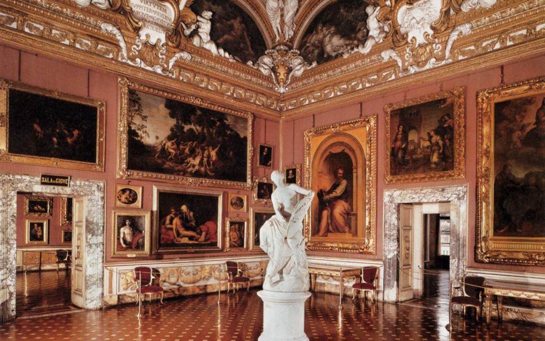 la quadreria della galleria palatina a palazzo pitti