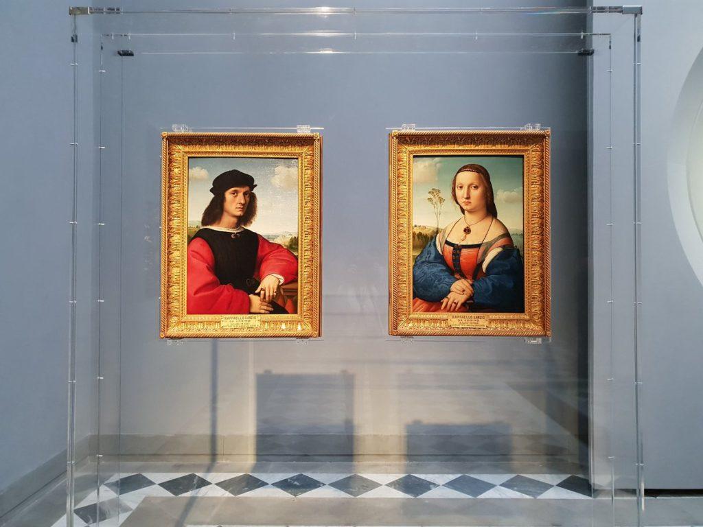 Coniugi Doni- Raffaello Sanzio Galleria degli Uffizi