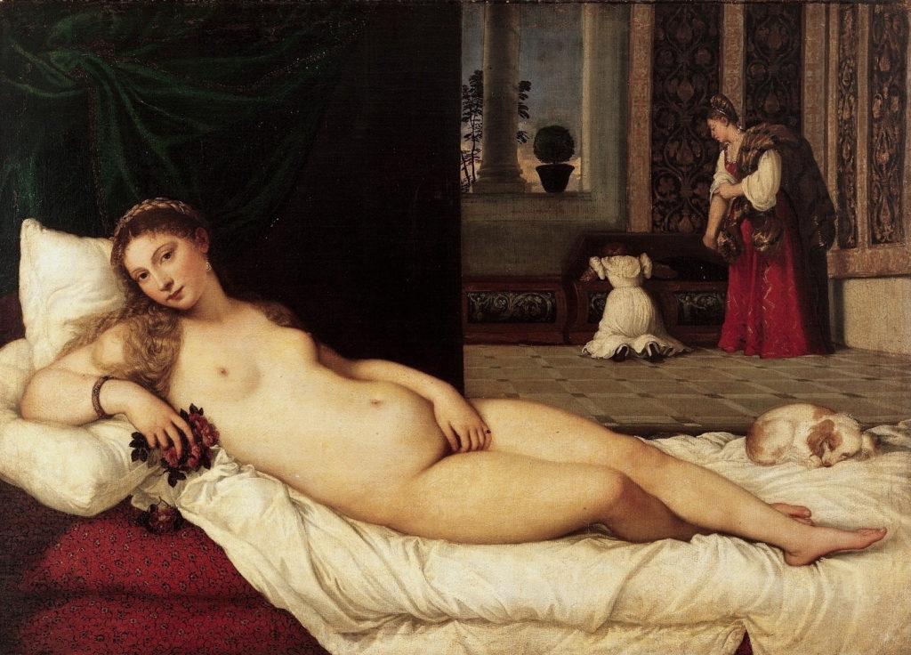 Galleria degli Uffizi Venere di Urbino di Tiziano