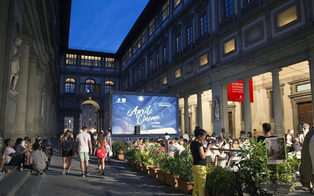 Apriti Cinema alla Galleria degli Uffizi