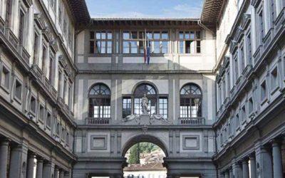 Cibo e arte alla Galleria degli Uffizi