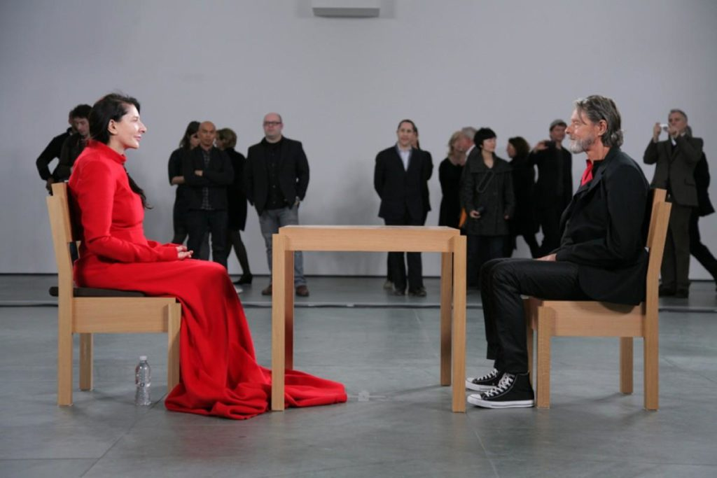 The Artist is present Marina Abramovic alla Galleria degli Uffizi