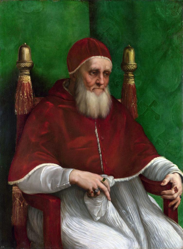 Il ritratto Giulio II