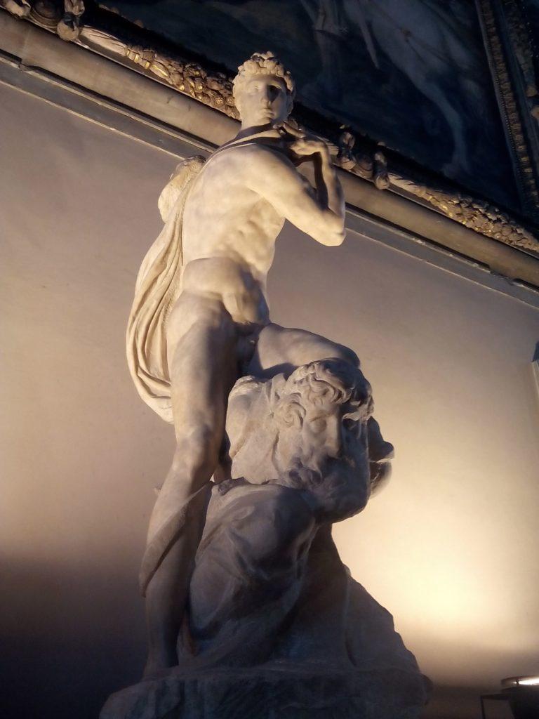 Il Genio della Vittoria a Palazzo Vecchio