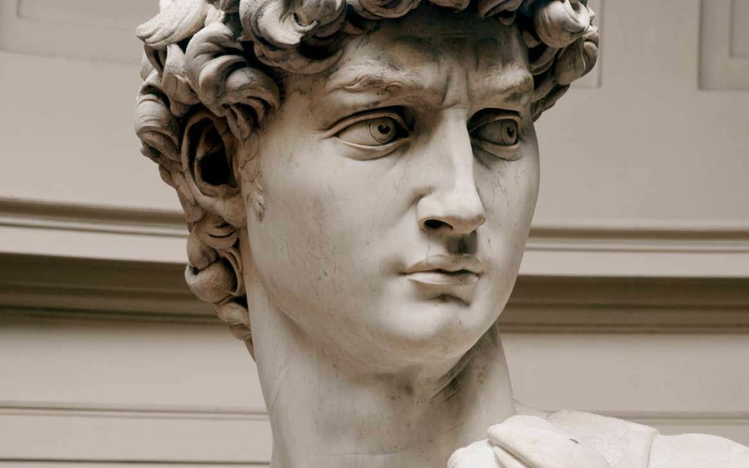 David di Michelangelo alla Galleria dell'Accademia