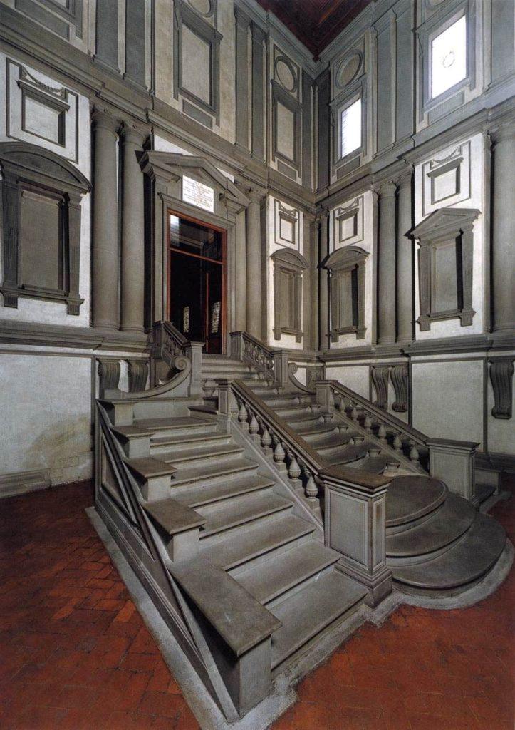Scalinata Biblioteca Laurenziana