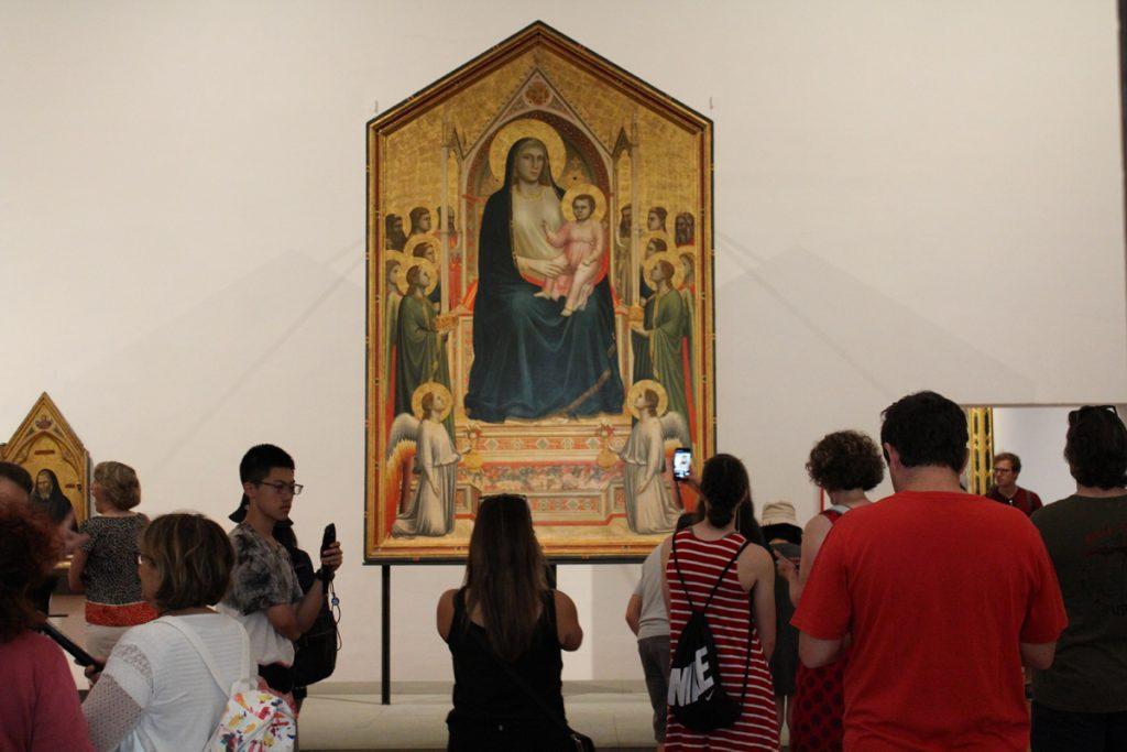 Galleria degli Uffizi - Giotto e il Medioevo