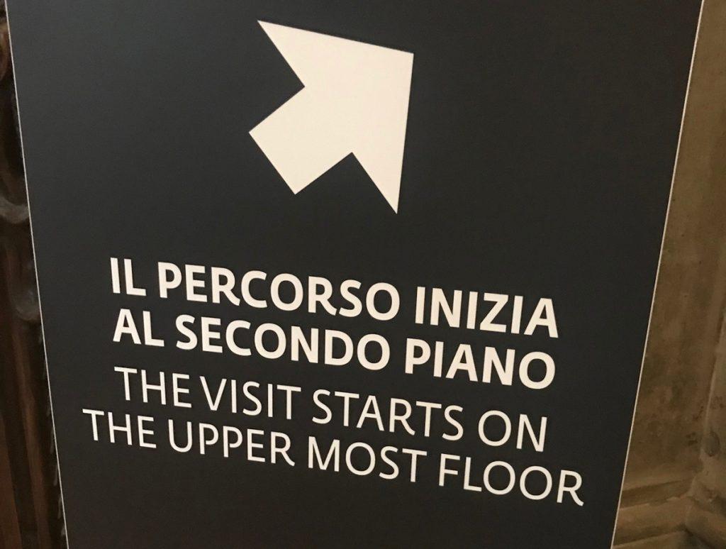 Galleria degli Uffizi Percorso espositivo