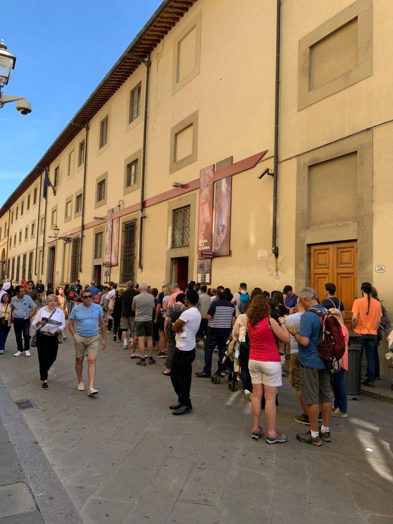 Accademia Via Ricasoli Firenze