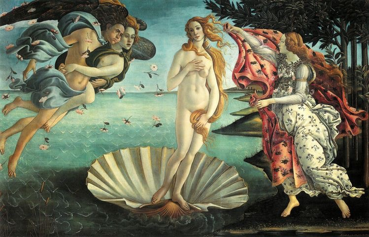 La Nascita di Venere