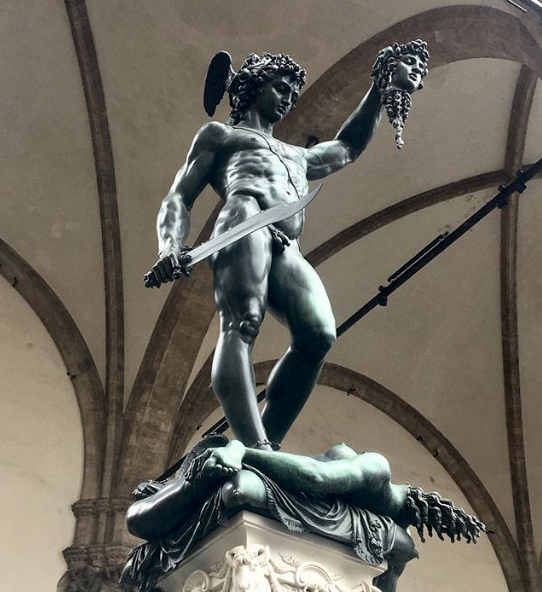 Perseo e Medusa - Photo by @sabrinapryntyl