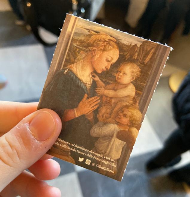 Biglietto Galleria degli Uffizi