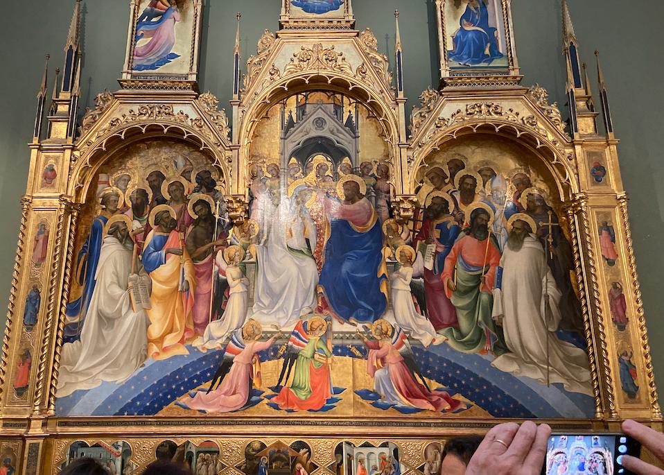 Incoronazione della Vergine di Lorenzo Monaco