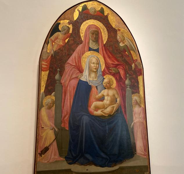 Sant'Anna Metterza di Masaccio e Masolino da Panicale