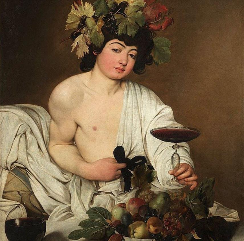 Il Bacco di Caravaggio alla Galleria degli Uffizi
