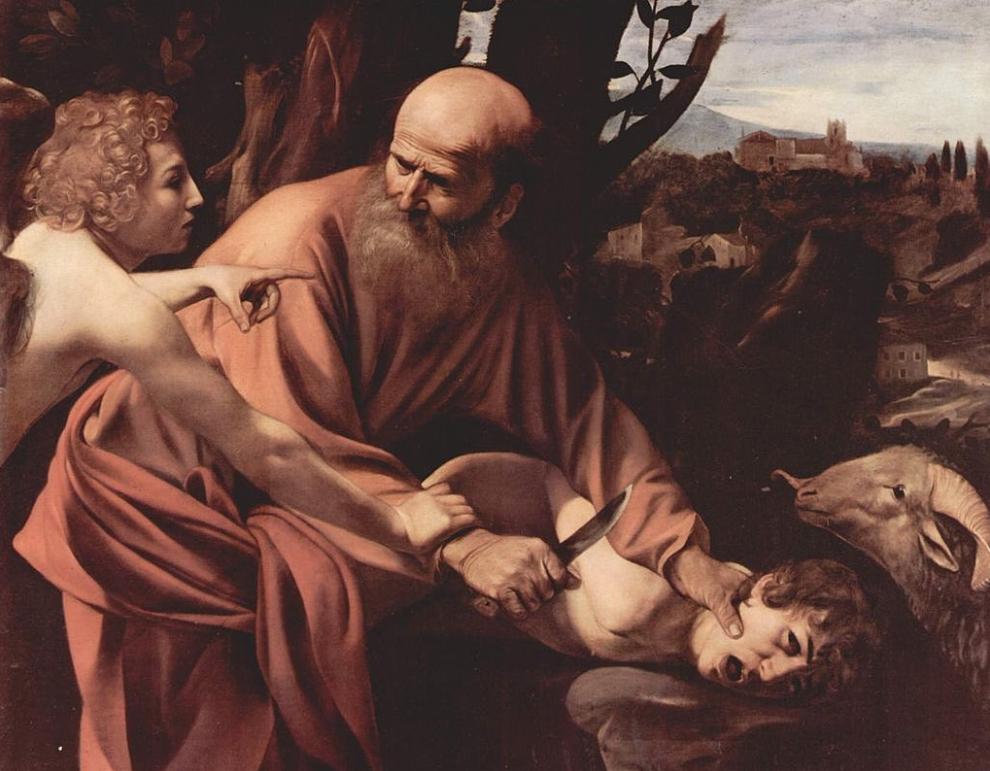 Il Sacrificio di Isacco alla Galleria degli Uffizi