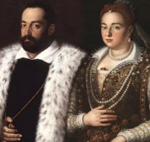 Francesco I De'Medici e sua moglie Bianca Cappello - photo by @toscana_con_ida